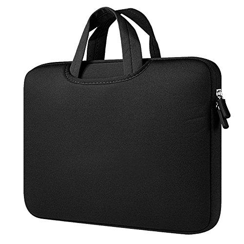 14 Pouces Sac  Main  Serviette  Sacoche Rsistant aux Chocs pour Apple iPad Pro et Ordinateur Portable  PC portable  MacBook Pro  MacBook Air Noir