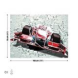 Formel 1 Auto Rot Leinwand Bilder (PP2371O1FW)