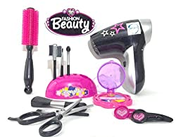 Akhand Beauty Set for Girls with Makeup Accessories and Hair Dryer