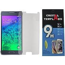 Fologar Protector de Pantalla de Cristal Templado 0,3 mm para Samsung Galaxy Alpha G850 G850F
