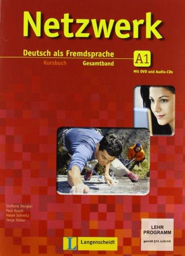 Netzwerk. A1. Kursbuch-Arbeitsbuch-Glossar. Per le Scuole superiori. Con CD Audio. Con DVD. Con espansione online