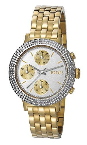 Joop! Damen-Armbanduhr Simply Gold Analog Quarz Edelstahl beschichtet JP101852004