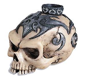Katerina Prestige-Candelabro cráneo Tribal, hf0412