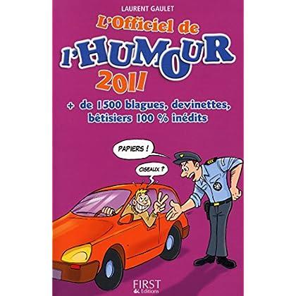 L'officiel de l'humour 1500 blagues, devinettes / Gaulet, Laurent / Réf21253
