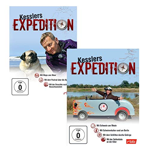 Kesslers Expedition Paket - Die Expeditionen 11 - 17 - Michael Kessler
