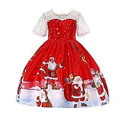 Mxssi Vestido Navidad Ni a...
