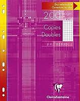 Copies doubles perf. s/étui 21x29,7 200 p Q.5x5 + marge
