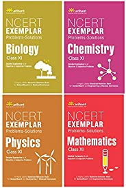 NCERT Exemplar Problems-Solutions for Physics / Chemistry/Maths /Biology  class 11 (Set of 4 books)