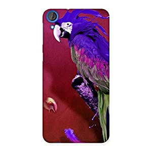 Delighted Magic Parrot Multicolor Back Case Cover for HTC Desire 820s