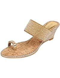 1d4a5b75a44 Gold Women s Fashion Sandals  Buy Gold Women s Fashion Sandals ...