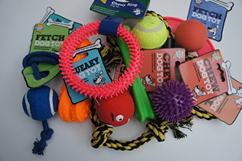 BARGAIN-DOG-TOY-ASSORTMENT-PACK-OF-11-ASSORTED-ARMITAGE-GOOD-BOY-DOG-TOYS
