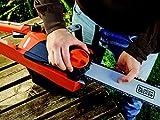 Black+Decker Elektro-Kettensäge (2200W, 45 cm Schwertlänge, 12,5 m/s Kettengeschwindigkeit, rückschlagarm Kettenbremse) CS2245 für Black+Decker Elektro-Kettensäge (2200W, 45 cm Schwertlänge, 12,5 m/s Kettengeschwindigkeit, rückschlagarm Kettenbremse) CS2245