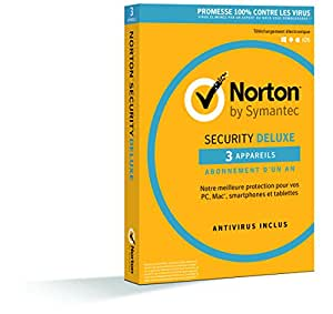 Symantec Norton Security Deluxe 3.0 For 1 User 3 Devices 12 Months Card