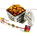 Shivram Peshawari & Bros Rakhi Special Gift 150 Grams Almond With Special Dry Fruit Gift Box