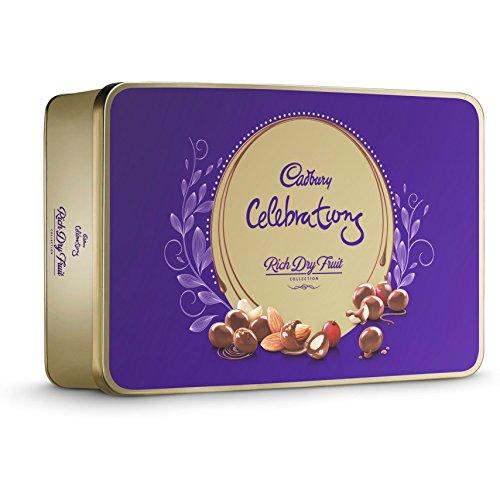 Cadbury Celebrations Rich Dry Fruit Chocolate Gift Box, 177g