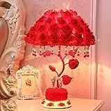 &die Tischleuchte Hochzeit Tischlampe, Hochzeit Tischlampe Schlafzimmer Hochzeit Zimmer Nachttischlampe Hochzeit rot festlich Tischlampe Herzform Liebe Symbol - Pink ( Farbe : A , ausgabe : Netzschalter-Taste )