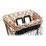 Skip Hop Shopping Cart Cover - Multicolored Leaves