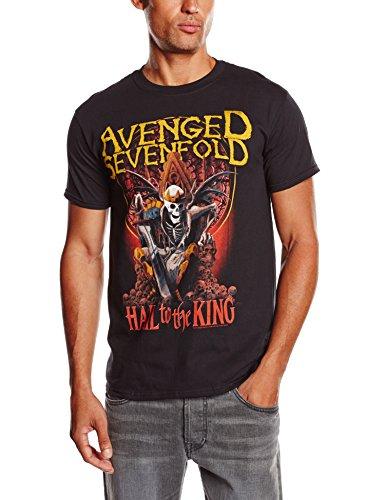 Avenged Sevenfold Men's New Day Rises Short Sleeve T-Shirt