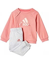 Adidas Performance Survêtement Sport Logo Jogger Rose Survêtements Vêtements