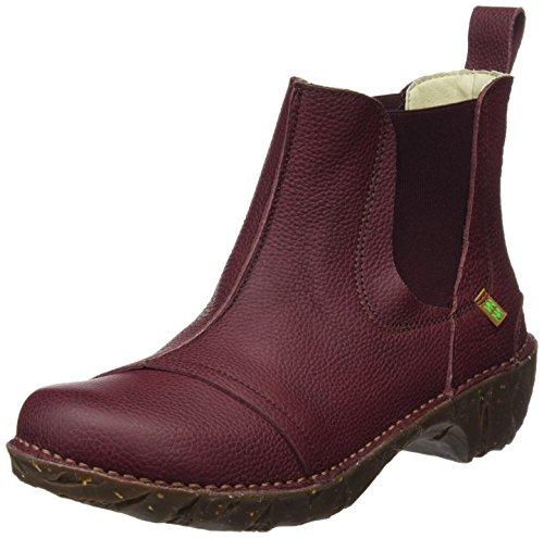 El Naturalista Damen N158 Soft Grain Yggdrasil Chelsea Boots Rot (Rioja)