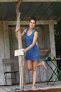 Sommer Kleid häkeln! Häkelpaket mit Sommergarn (Sommerwolle Catania) zum Kleid selberhäkeln – Häkelset mit Baumwolle und Häkelanleitung von Schachenmayr – Häkelpackung zum Sommerkleid selber häkeln von MyOma