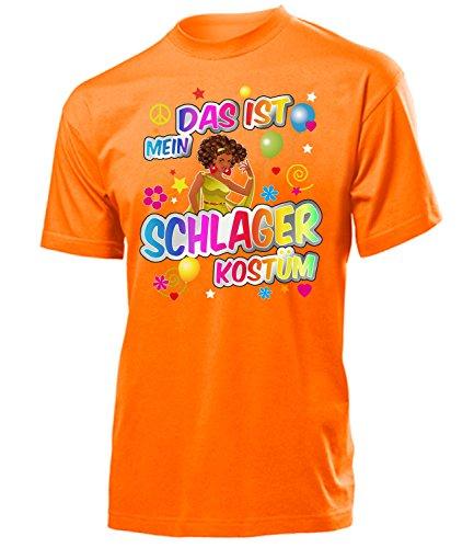 Schlager Kostüm Männer T-Shirt Motto Party Karneval Fasching Outfit Schlagershirt Faschingskostüm Schlagerkostüm Accessoires Hemd (Outfits Für Karneval)