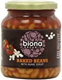 Biona Organic Baked Beans Tomato Sauce 340 g (Pack of 6)