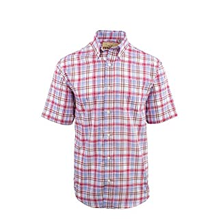 Fenside Country Clothing Alford - Mens Easycare Short Sleeve Check Summer Shirt (4XL - 58-60