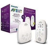 Philips SCD713/00 Avent Baby Monitor con Tecnologia DECT, Luce Notturna Confortevole e Ninna Nanne