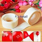 #5: Ps Retail 200Pcs /Lot Removable Balloon Glue Party Glue Dot Foil Balloons Mariage Supplies