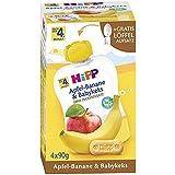 Hipp Fruit & Cereal QB pomme banane et Babykeks, 4x90g