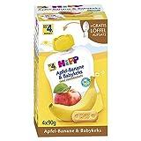 Hipp frutta e cereali QB banana & Babykeks, 4x90g