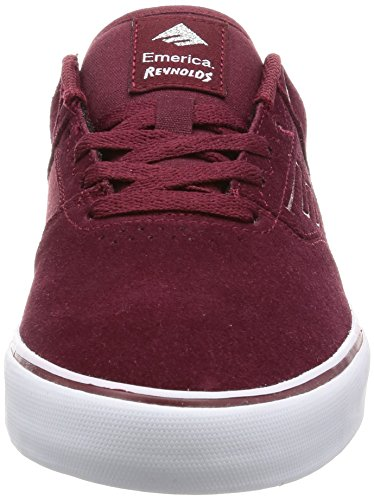 Emerica The Reynolds Low Vulc Herren Skateboardschuhe red/white/gum