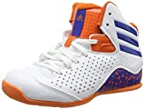 adidas Jungen NXT LVL SPD IV NBA K Basketballschuhe, Blanco (Ftwbla/Azul / Naranj), 31 EU