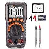 Multimeter, TACKLIFE DM10 Digital Electrical Tester Auto Ranging Battery Tester AC/DC Voltage AC/DC