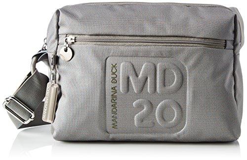 mandarina-duck-damen-md20-tracolla-umhangetasche-grau-grey-205-x-11-x-28-cm