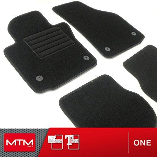 Alfombrillas Seat Altea XL desde 10.2006- Alfombra a medida para coche MTM One en moqueta negra