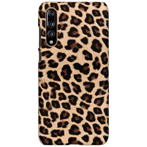 hCase Huawei P20 Pro Hülle - Leopard, Wildkatze, Tiermuster - Hard Case Handyhülle