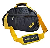 #8: Hallucination unisex Gym Bag (Red) Sports Bag Duffel Bag Travel Bag Casual, Funky & Vibrant (Red)