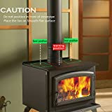 Aobosi Hitze Powered Herd Fan für Log/Kohle Brenner/Holz Stoves - 8