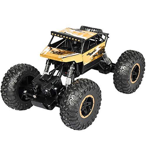 4WD 2,4 GHz Wiederaufladbare RC Rennwagen Off-Road Rock Crawler Fahrzeug Kinder Spielzeug (Wiederaufladbare Rock Crawler)