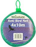 Woodside Green 4M x 10M Multi Purpose Anti Bird Protection Netting