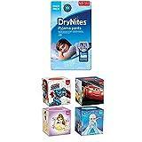 DryNites hochabsorbierende Pyjama Unterhosen für Jungen, Jumbo Monatspackung 8-15 Jahre, 1er Pack (1 x 52 Stück)+ Kleenex Collection Kids 4X56Handkerchiefs 3-Ply Tissues Assortment Bundle