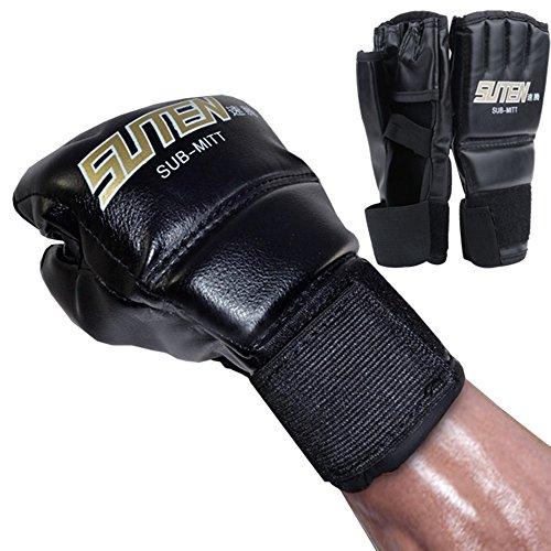 cooshional Handschützer Sparring Handschuhe Sparring Grappling Boxenhandschuhe Box kampf Schlag ultimative Mitts Lederhandschuhe