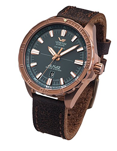 Vostok Europe Automatic Mens Watch Almaz Bronze NH35A-320O507