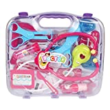 #8: Planet of Toys Multicolour Doctor Play Set with Light 15Pieces for Kids, Children