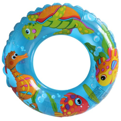 NOVICZ Inflatable Floating Tube 80 cm Diameter Swimming Tube Pool Beach Float Raft Tube Water Floating Tube Swim Ring ...