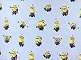 Disney Minions Baumwolle Popeline Stoff Material