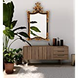 Polyworm Caserta Wall Rectangular Mirror (PW-SM_Large_Antique Gold)