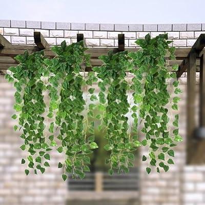 Rhx Deko-Hängepflanze Weinrankenpflanze, künstlich, für Zuhause / Garten von Kirinstores - Du und dein Garten